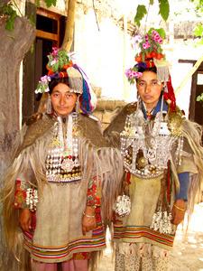 люди племени Дрок Па